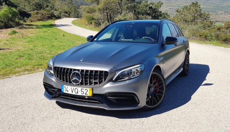 O ensaio do Mercedes-AMG C63 S Station