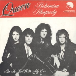 Bohemian Rapsody / I'm In Love With My Car – Queen